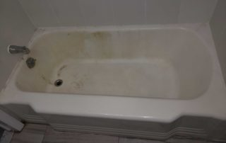 Stained Bathtub